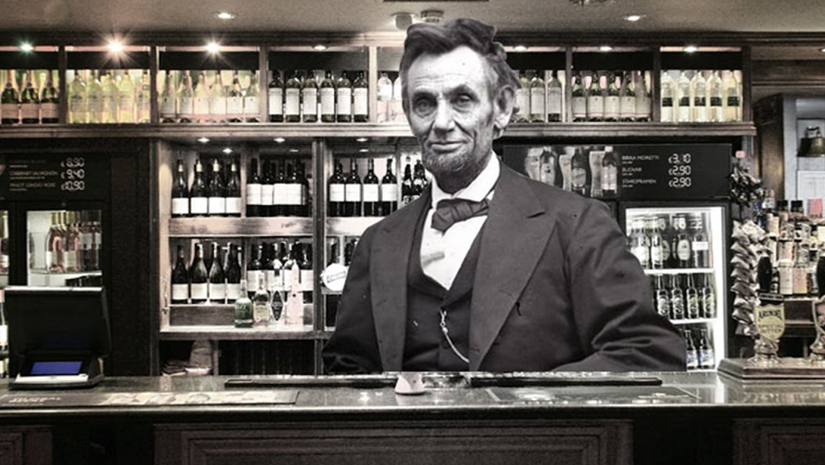 Abraham was licensed to work as a bartender