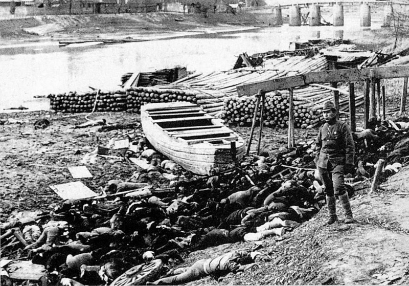 Genocide and rape were some of the war crimes committed by the Red Army