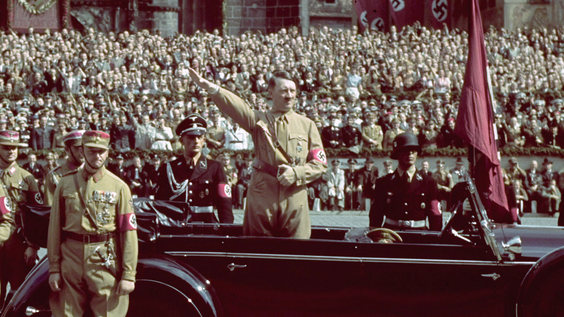 Germany was ruled by Adolf Hitler