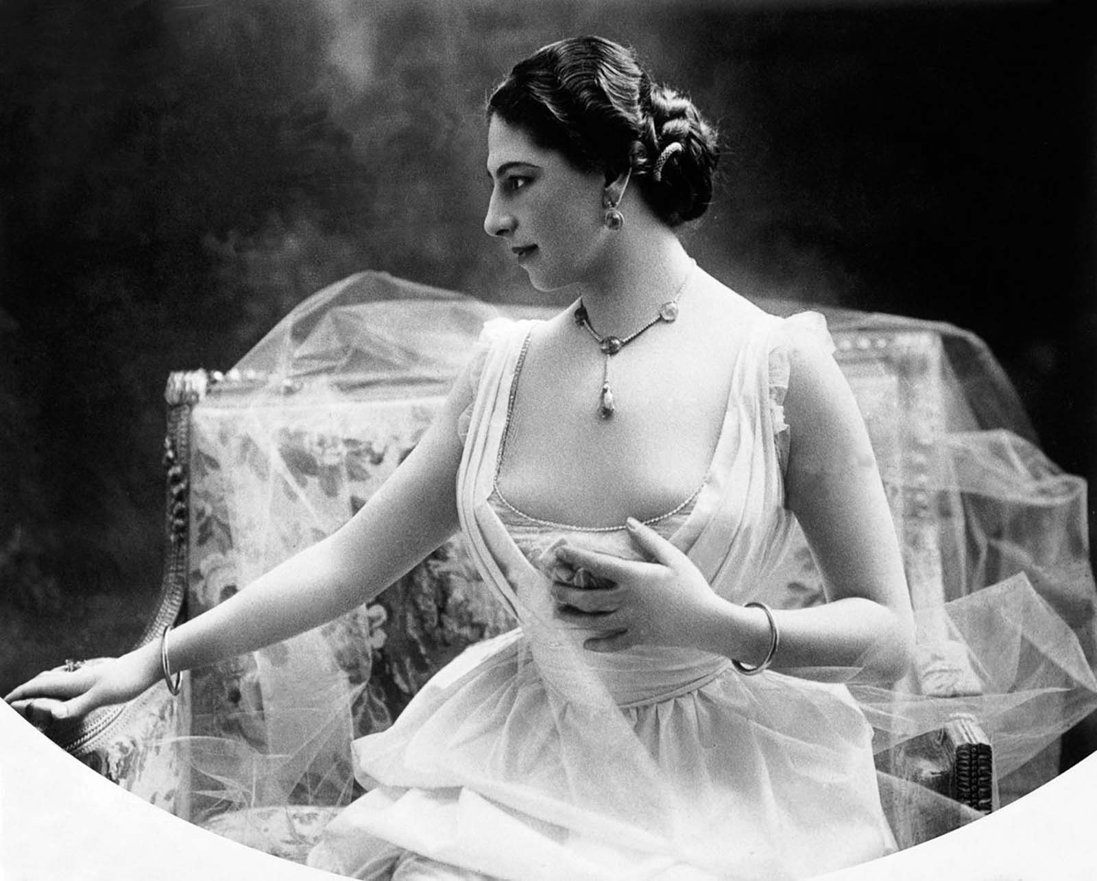 Mata Hari, the famous spy of WW1