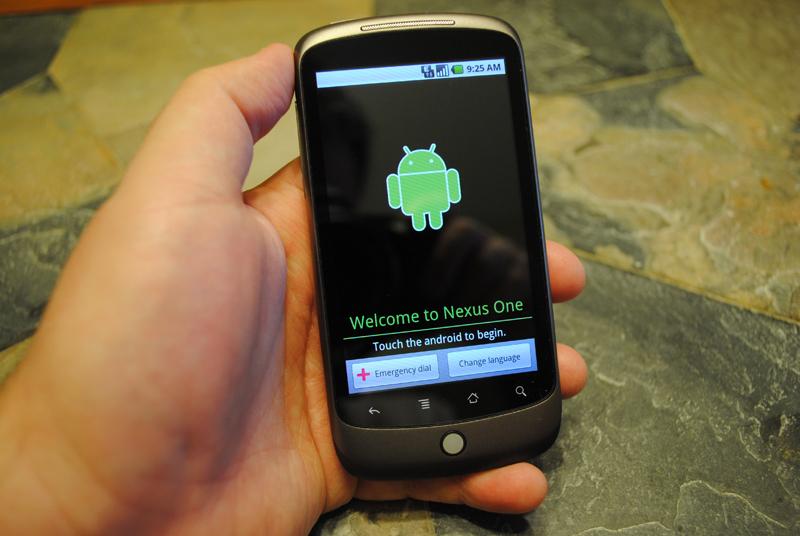 Nexus One on January 5 2010
