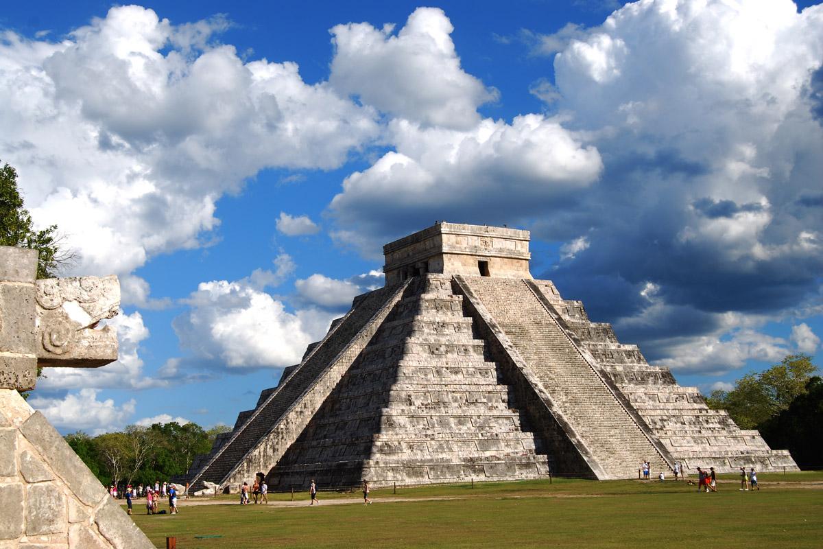 The Chichen Itza Pyramid