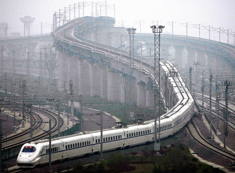 China's railway lines