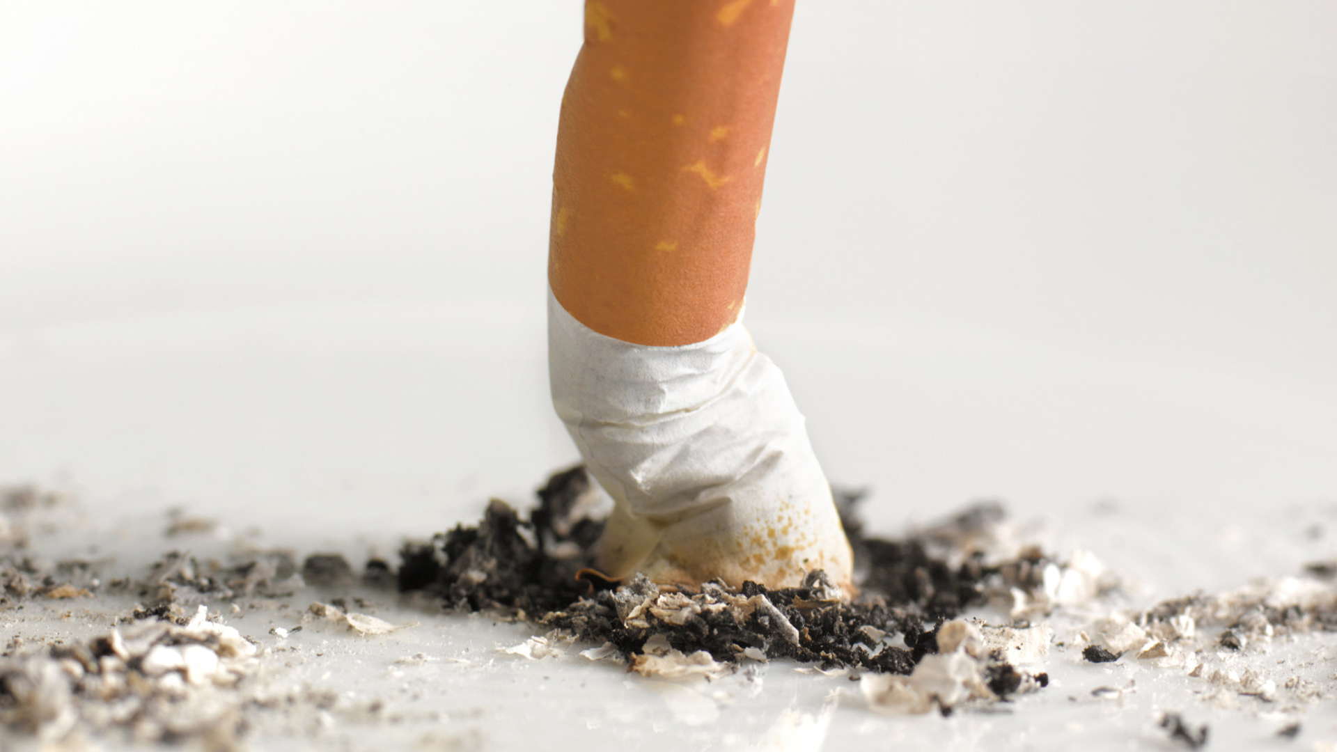 Cigarette contains nicotine