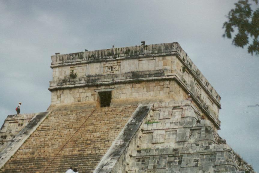 El Castillo is the tallest construction within the Maya ruins of Tulum