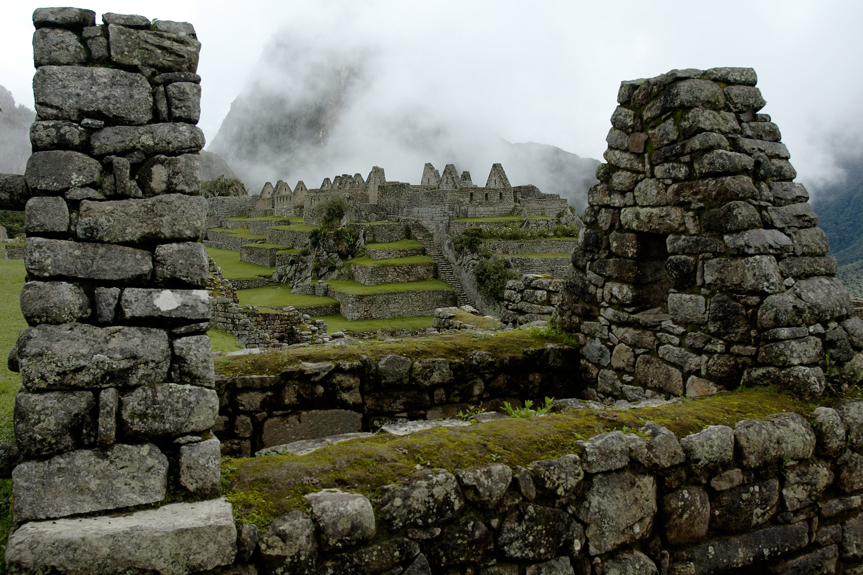 Machu Picchu was constructed on two fault lines