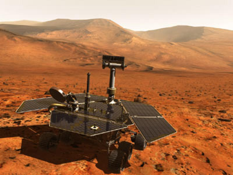 Mars is populated by seven Robots