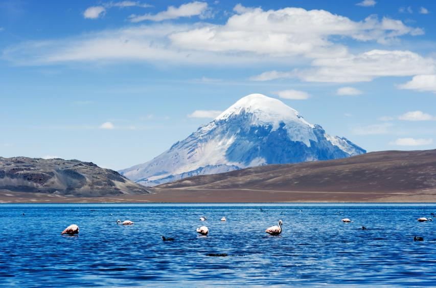 """""""Lake Chungara"""" is the world's highest lake above sea level found in Chile - Serious Facts"""