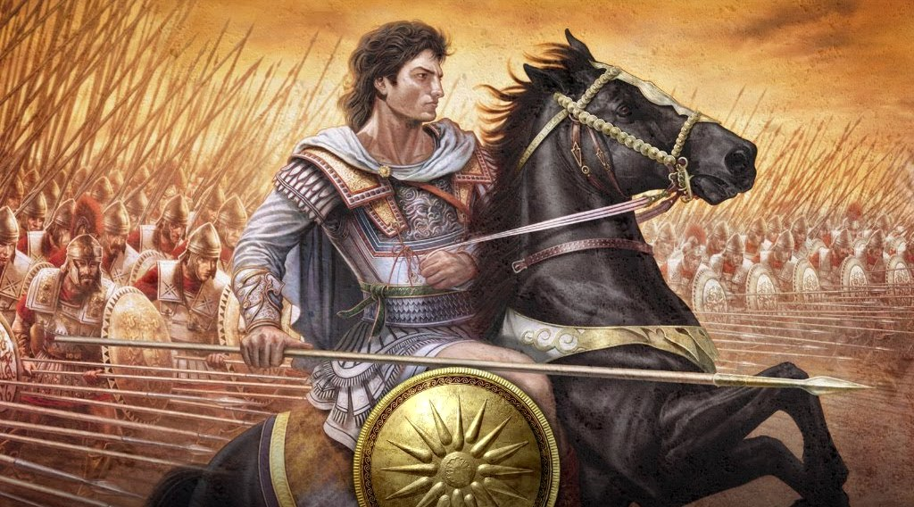 Alexander the Great was concurrently the King of Macedonia, Pharaoh of Egypt, King of Persia and King of Asia.