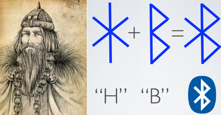 Bluetooth acquired its name from the second ruler of Denmark, King Harald Bluetooth.