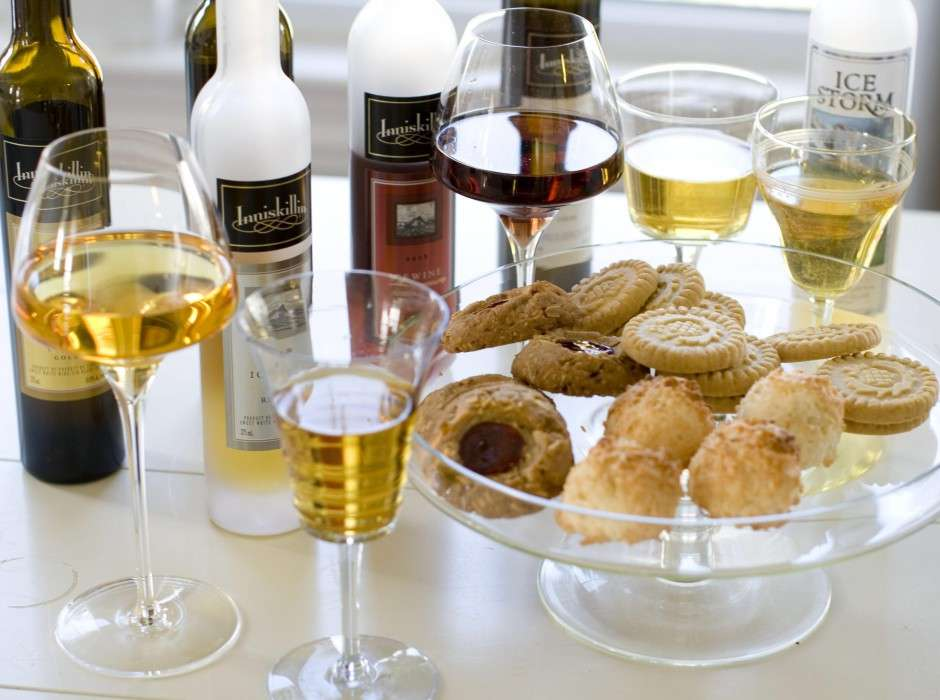 Canada is famous for its ice wine which is made by pressing frozen grapes.