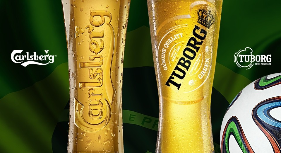 Carlsberg and Tuborg are two of the most famous Danish beer brands