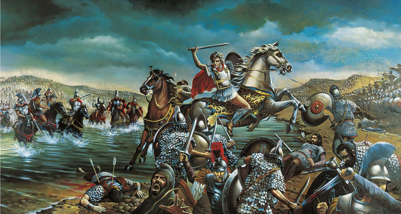 In 15 years of conquest Alexander never lost a single battle.