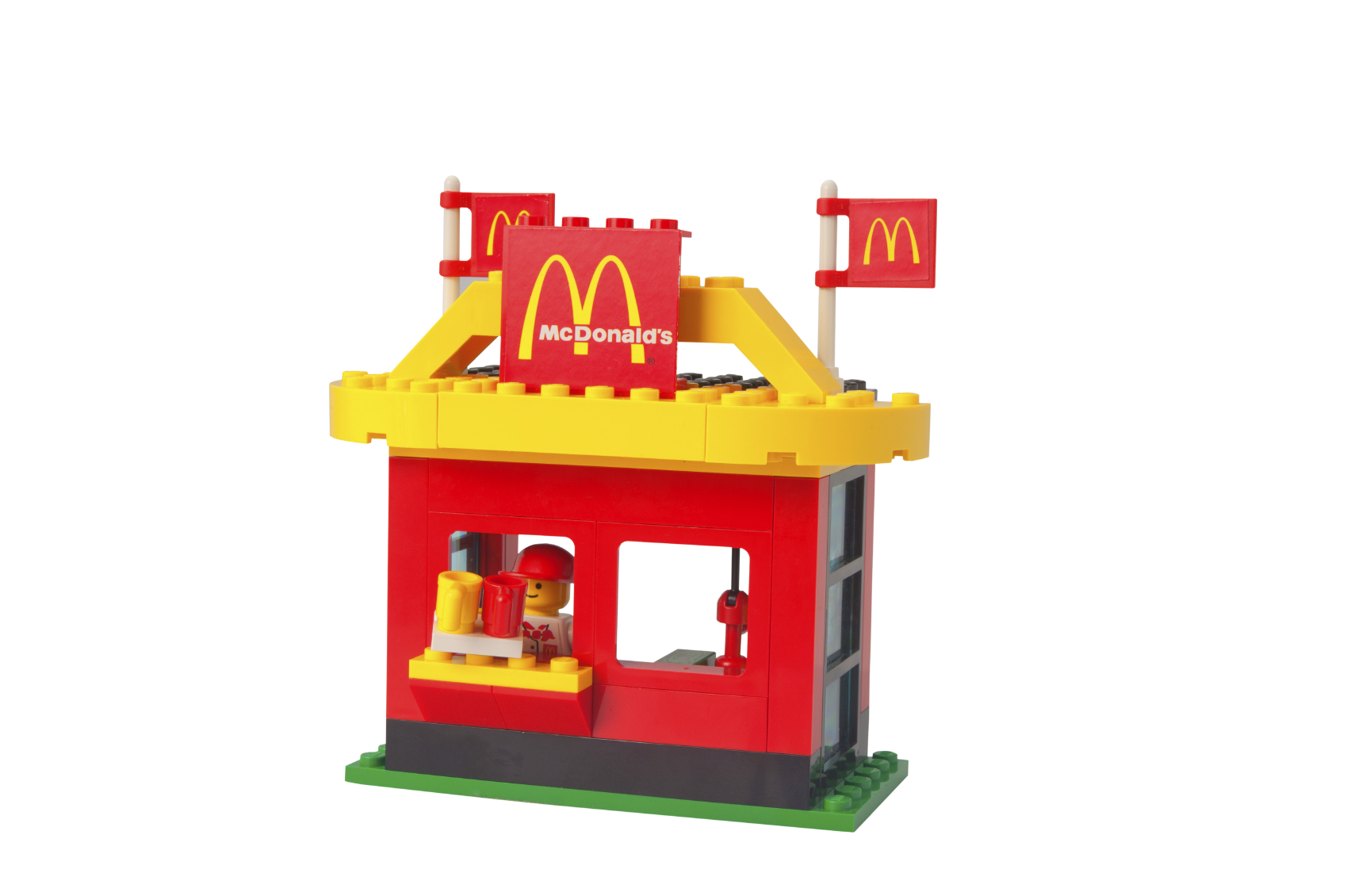 McDonald is also a world's largest supplier of toys