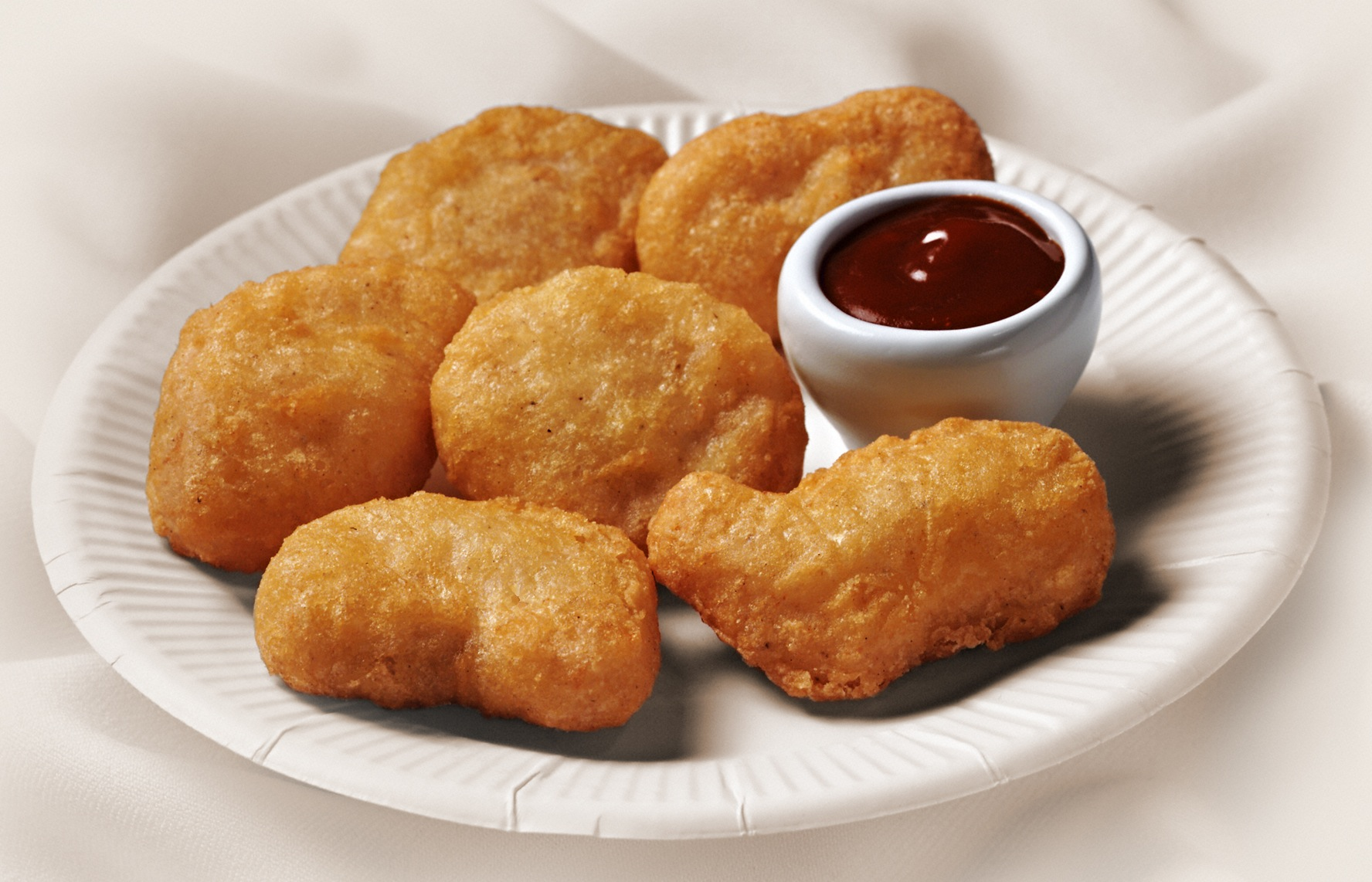 McNuggets come in four official shapes: bell, bone, boot and ball.