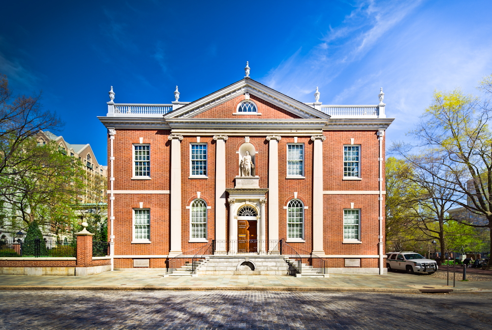 Benjamin Franklin was the first secretary of the American Philosophical Society.