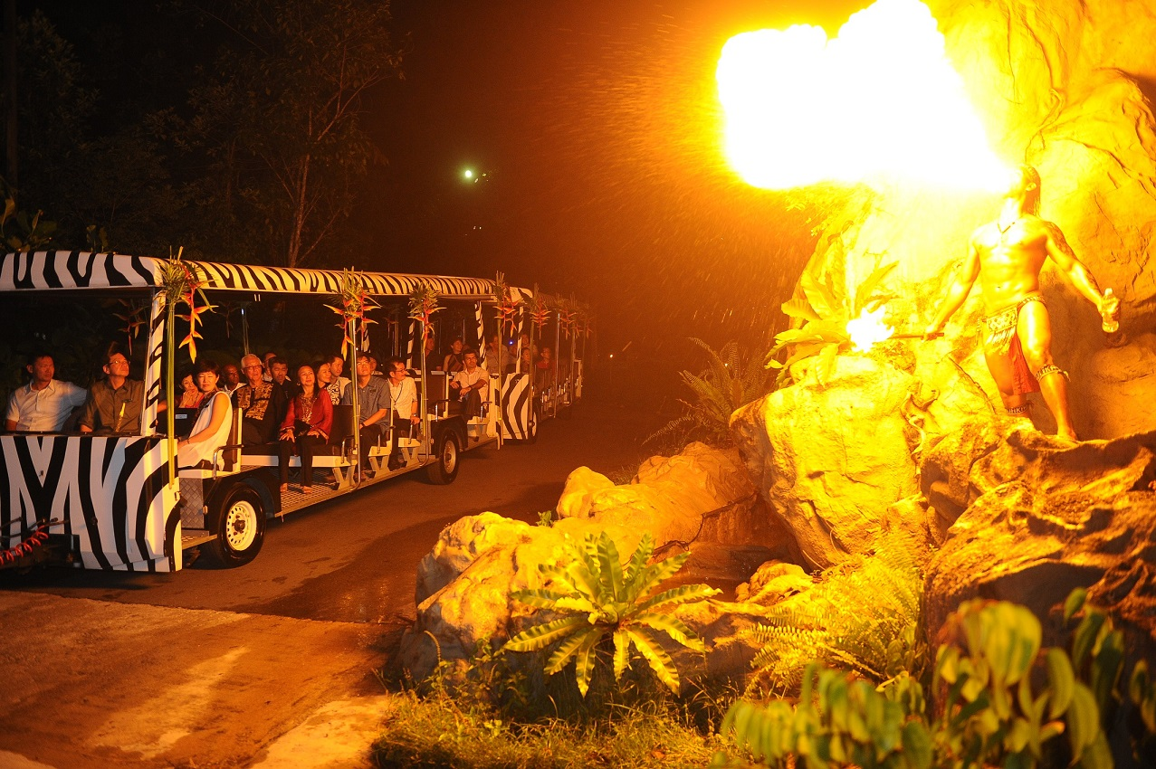 Singapore is home to the world's first-night safari zoo, which opened on 3 May 1994.