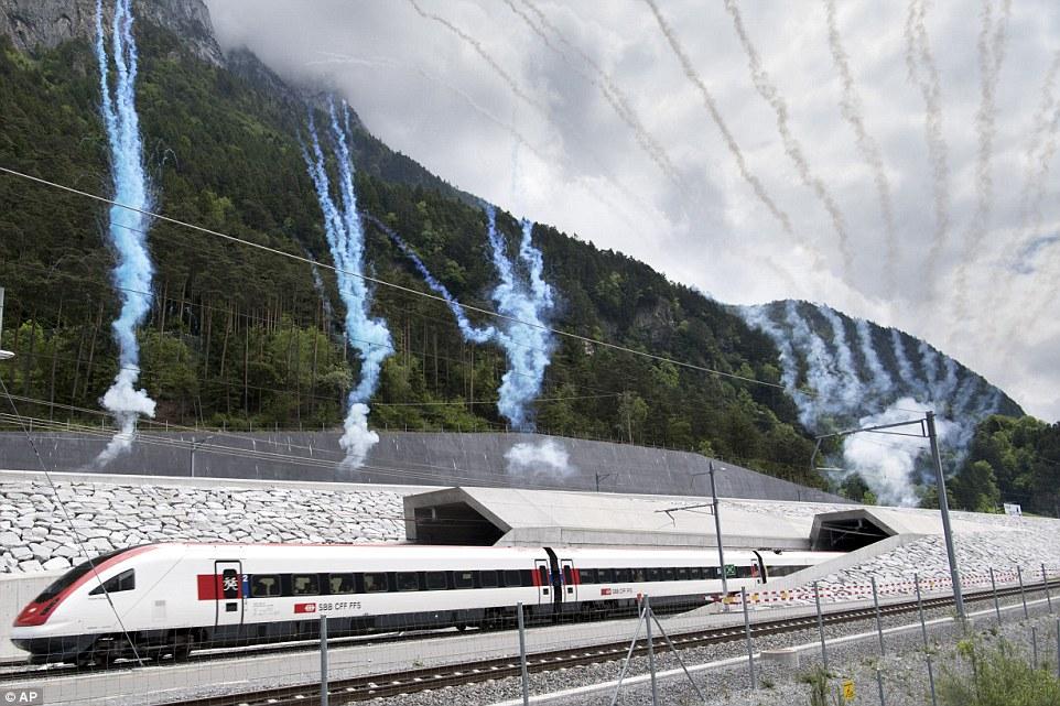 World's longest rail tunnel