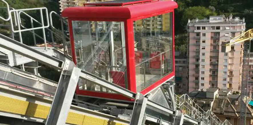 elevators in italy