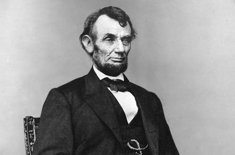 Abraham Lincoln began to grow his beard