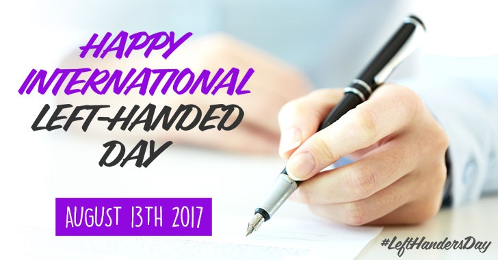 international left handed day 13 august