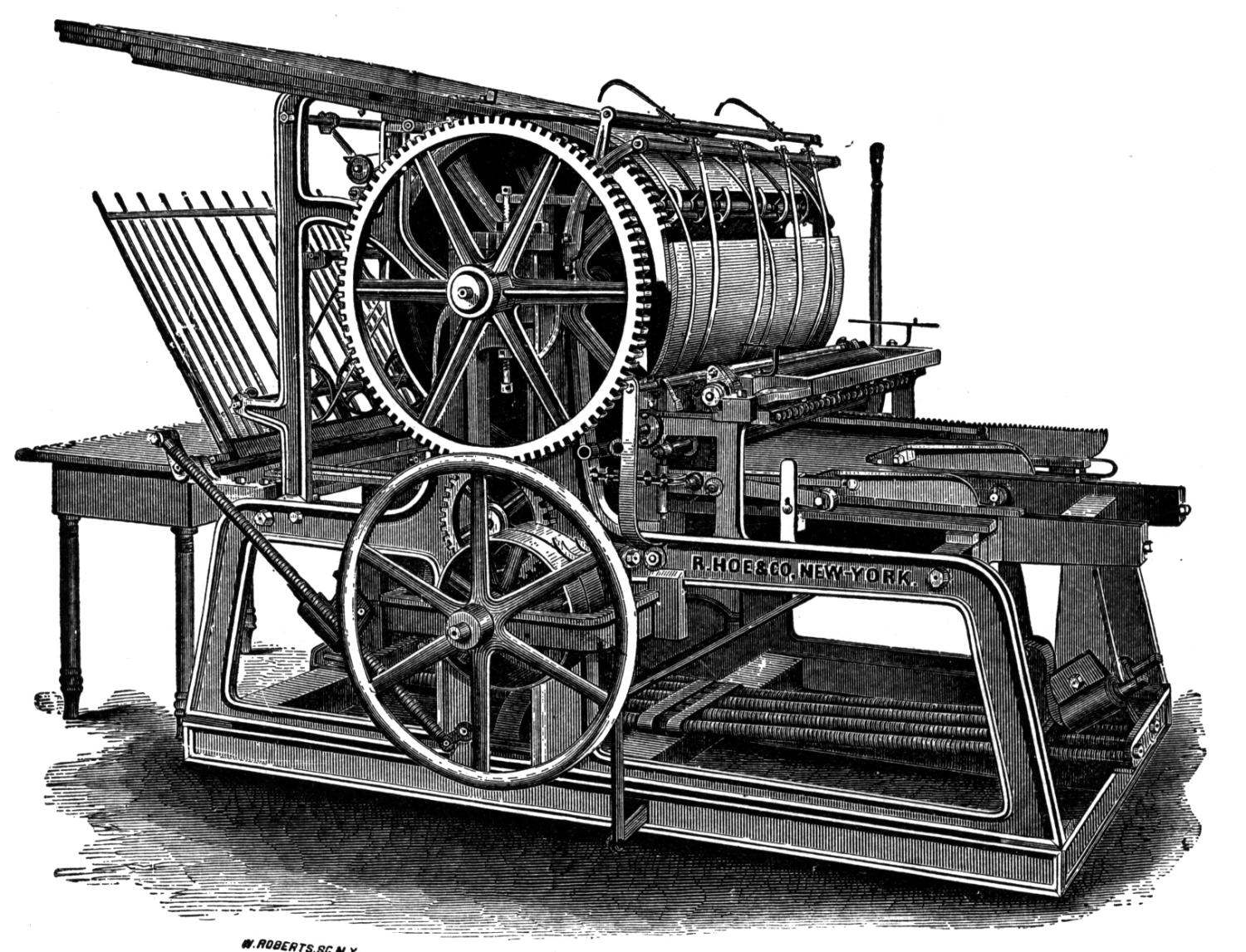 First printing press