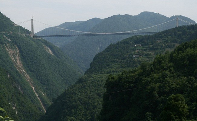 Baily Bridge is the highest bridge