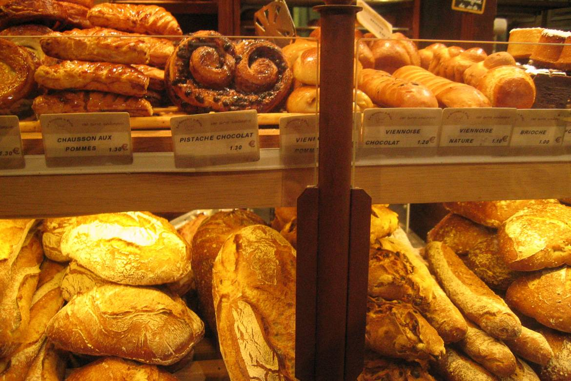 France has the highest number of bakeries