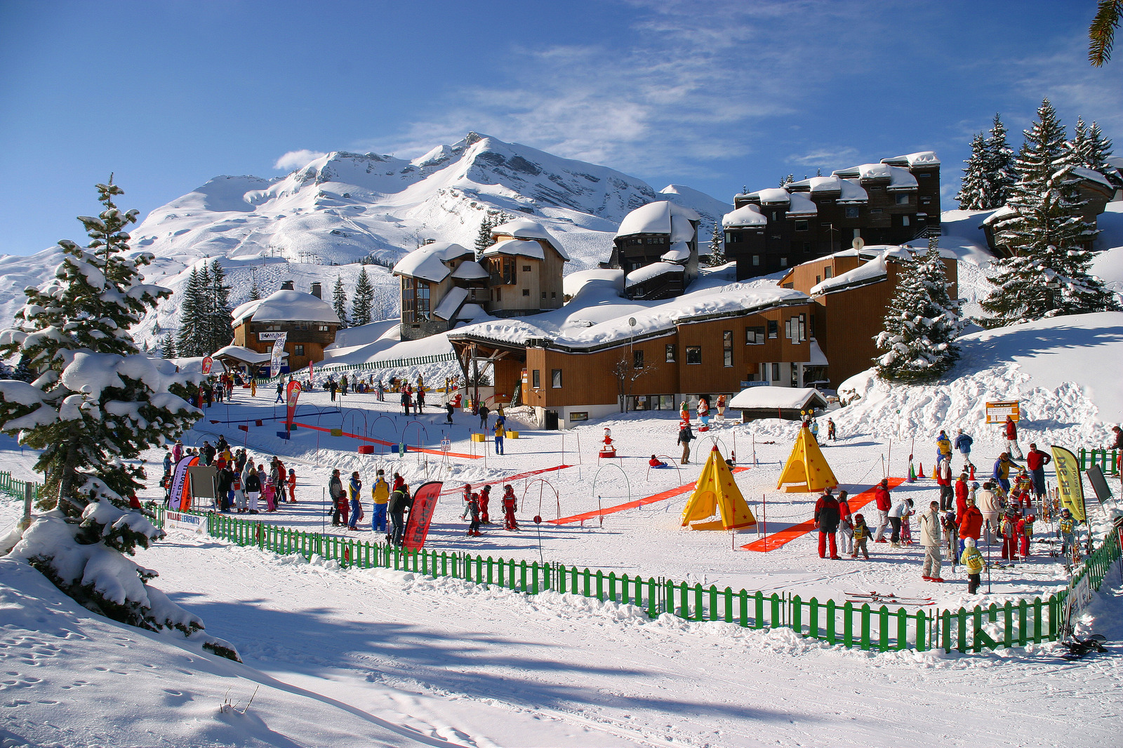 France has the highest number of ski resorts