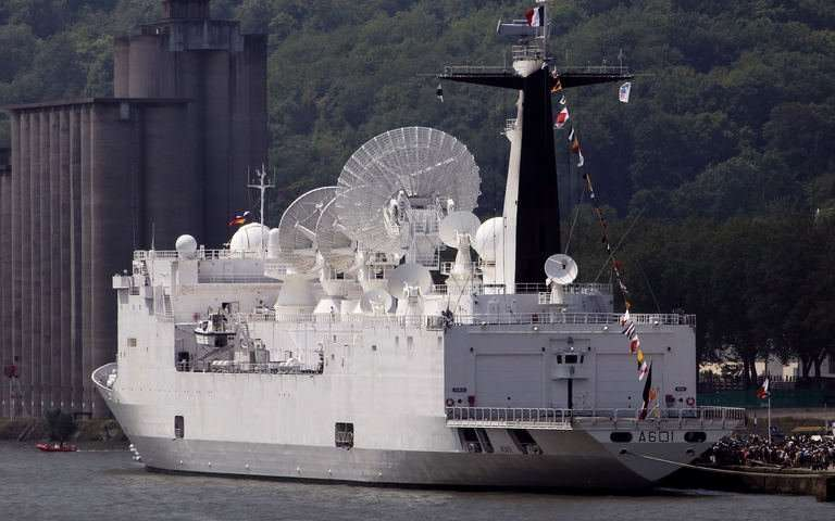 France has the supreme powerful radar ship named Monge.