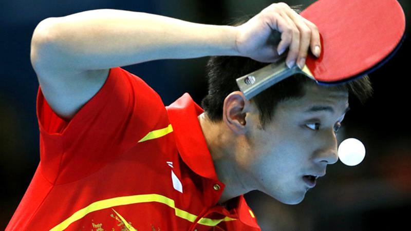 Table tennis is the national sport of China