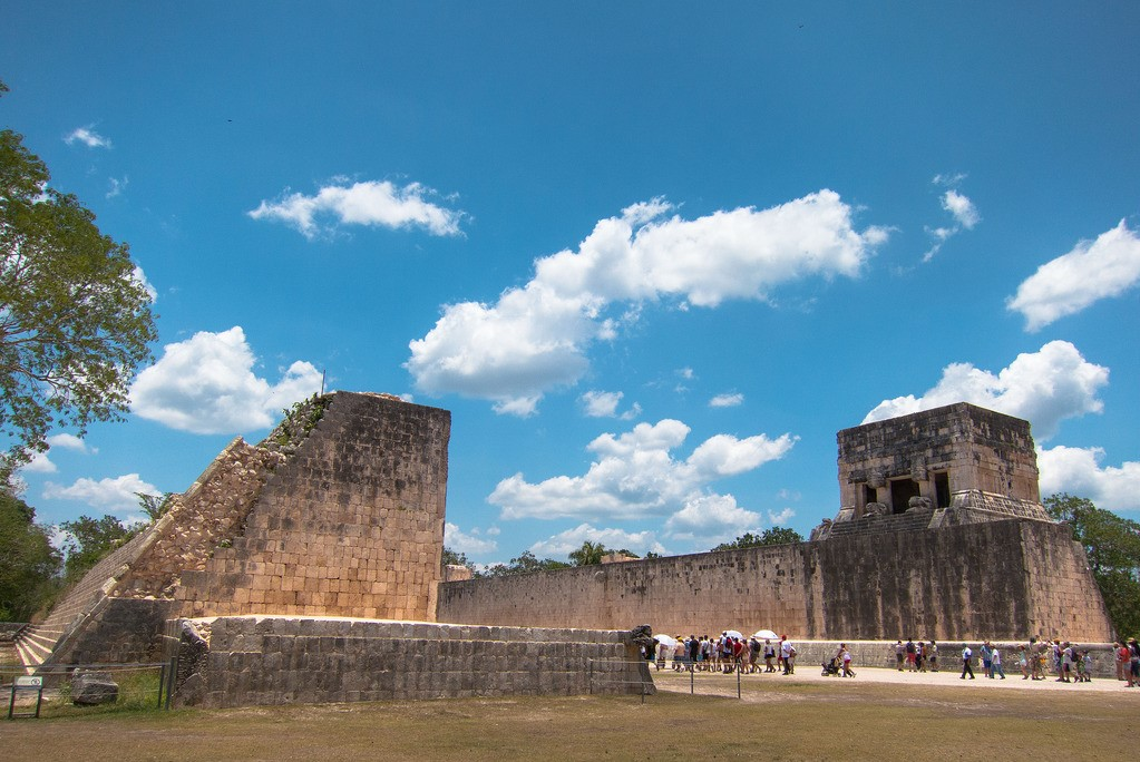 Chichen Itza has the largest ball court ever discovered in Mesoamerica
