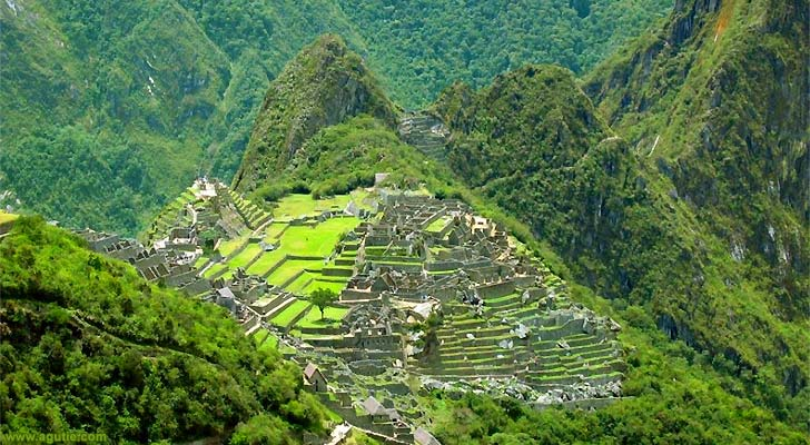 Machu Picchu is also known as the Lost City of the Incas