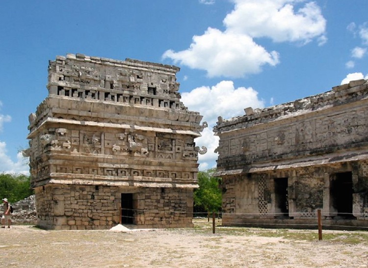 The Casa Colorada is one of the best buildings at Chichen Itza