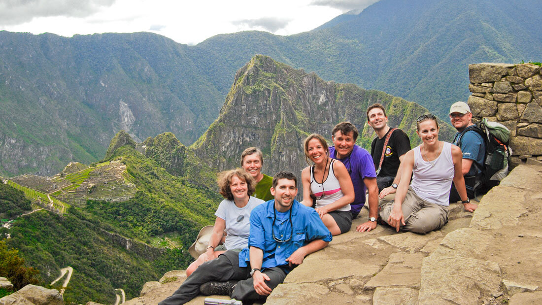 The Peruvian government permits only 2,500 visitors per day to Machu Picchu