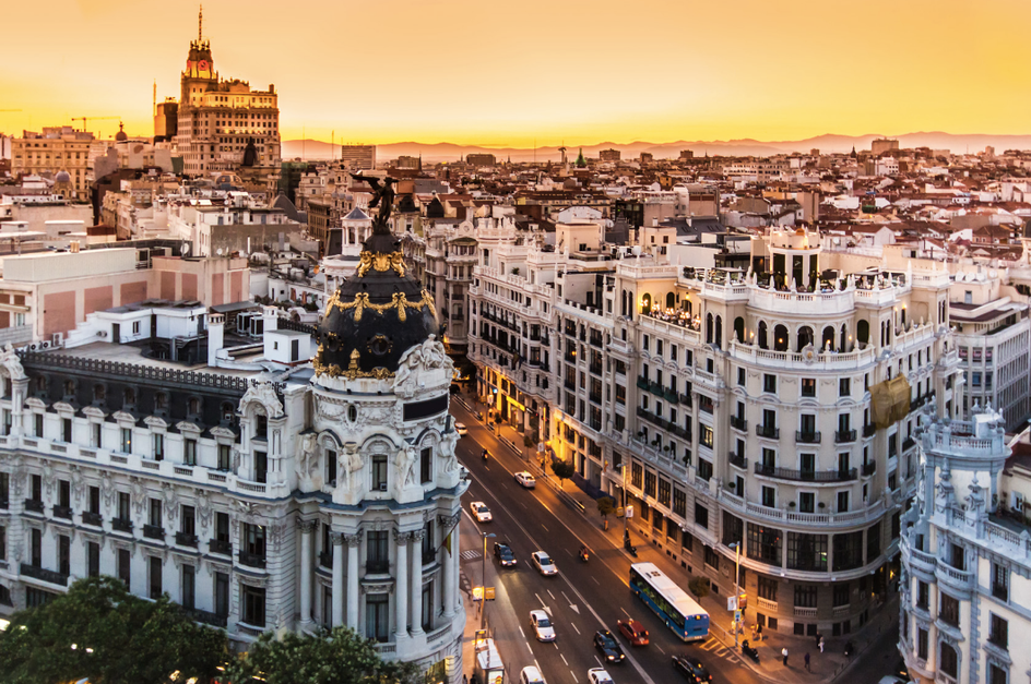 The capital of the Spain is the Madrid.