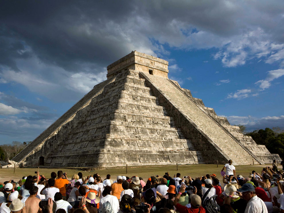 The pyramid of Kukulkan