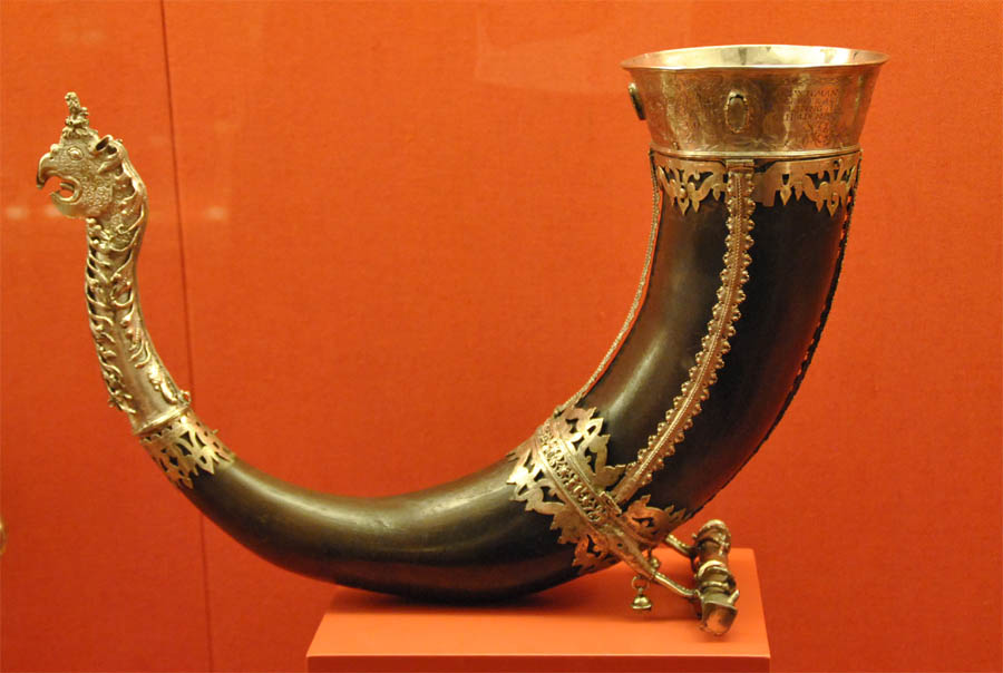 Gracefully curving lur horns, found in Denmark, are the world's oldest surviving musical instrument. Some date to the Bronze Age