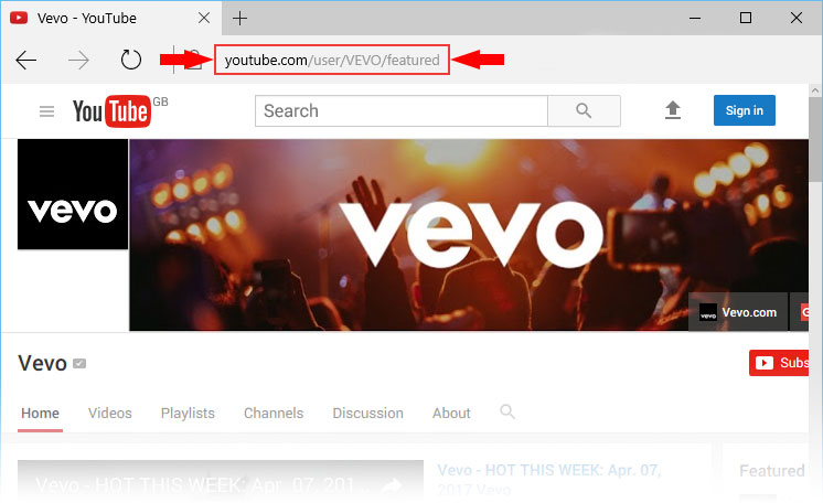 Justin Bieber's Vevo channel holds the record for most subscribers for a musical act.
