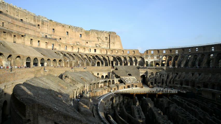 Roman Colosseum is a World's largest amphitheater