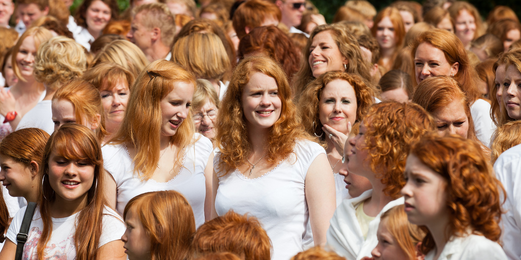 The Netherlands celebrates a two-day celebration called Roodharigendag in Dutch for redheads obligation in each September - Serious Facts