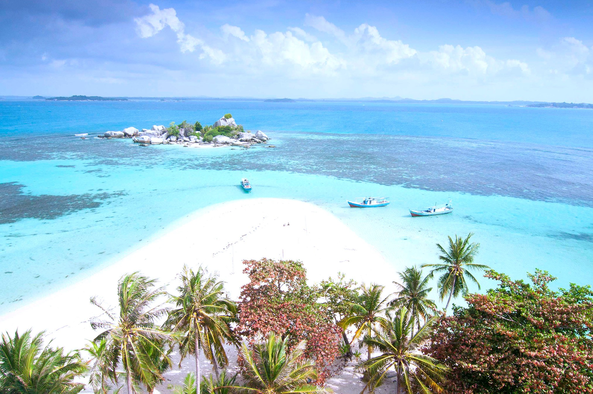The largest island is Sumatra, which is still part of the Sunda Island - Serious Facts