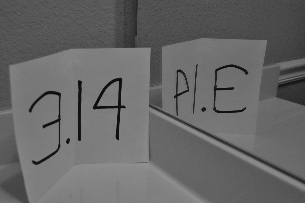 "The mirror image of 3.14 is ""PIE."" - Serious Facts"