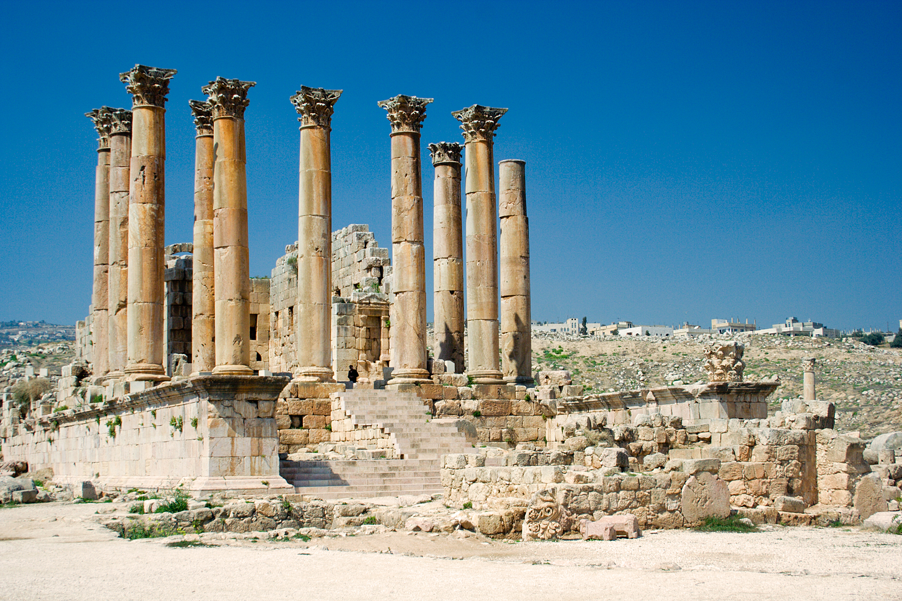 The temple of Artemis, which was the seven wonders of the ancient world was burned down on the day of Alexander's birth.