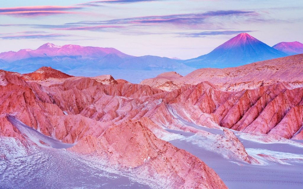 The world's driest place Atacama Desert found in the Chile - Serious Facts