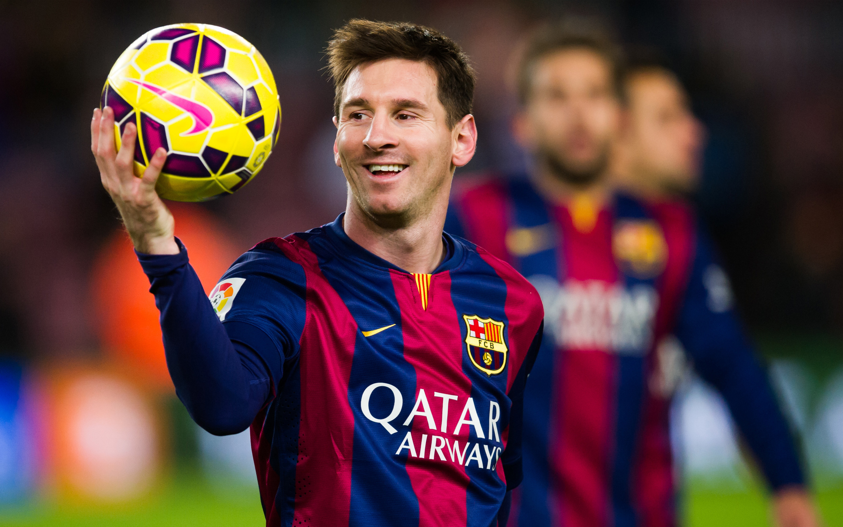 Argentine soccer hero Lionel Messi is the world's best footballer.