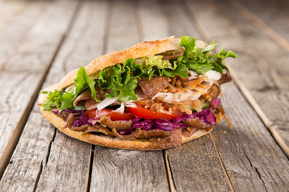 Doner Kebab is the Germany's most popular snack.