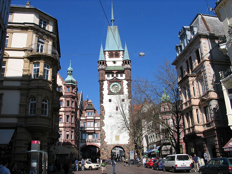 Freiburg is the warmest German city.