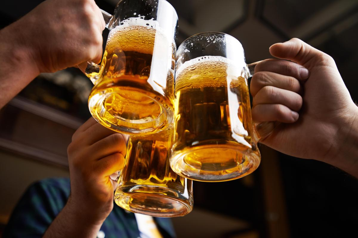 Germans are the biggest beer consumers in the world.