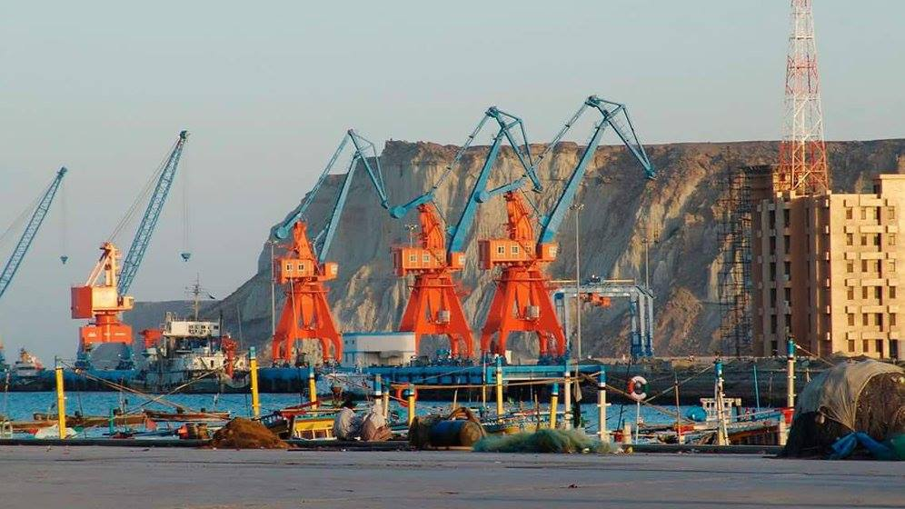 The Gwadar in Pakistan is the world's largest deep sea port.